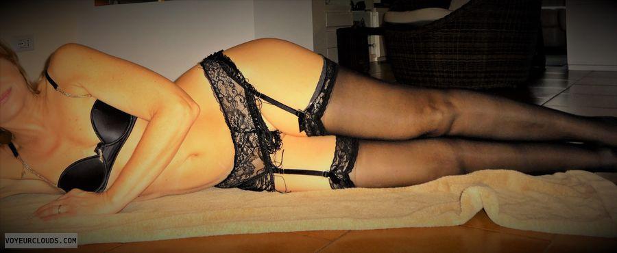 anna, wihe, lingerie, stockings, garters