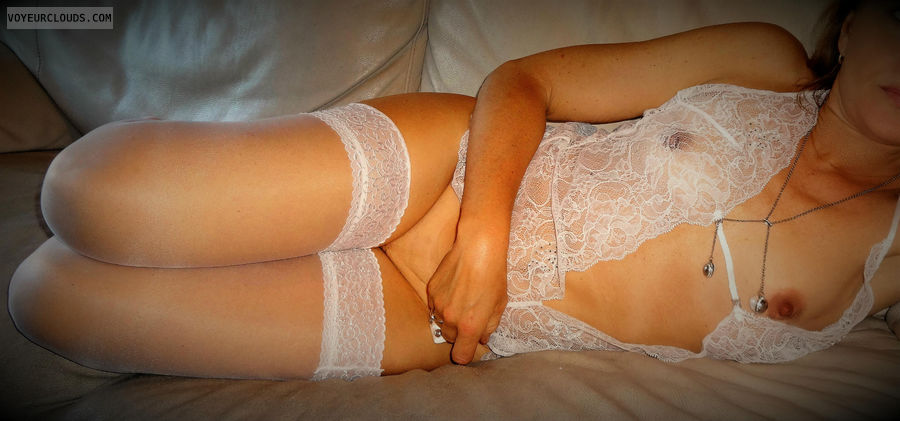 anna, wife, pussy, stockings, lingerie