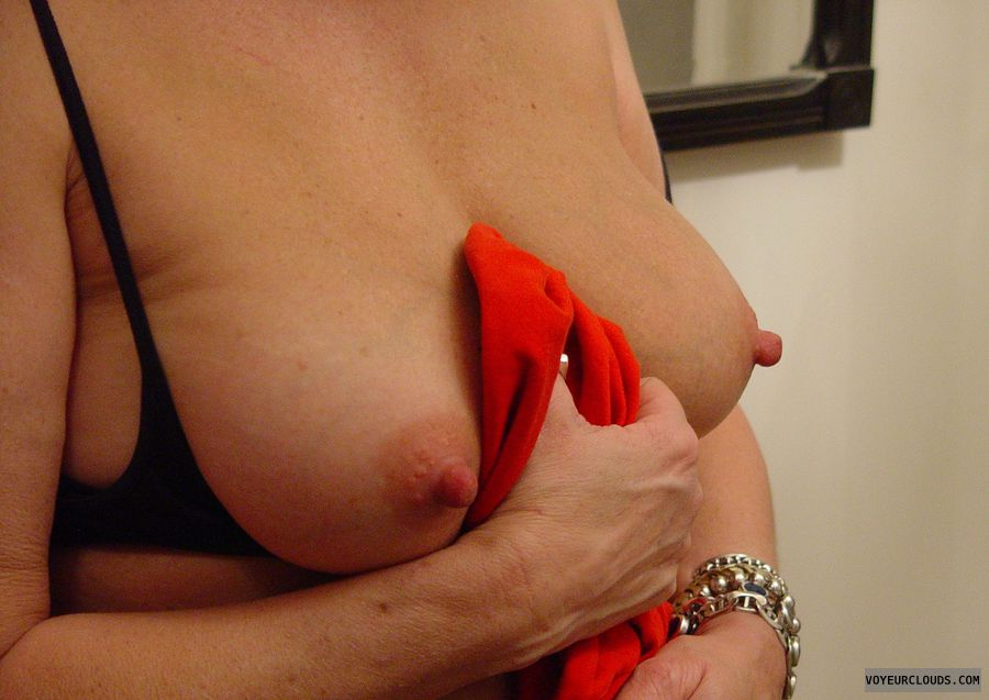 hard nipples, wife nipples, thick nipples, mature tits