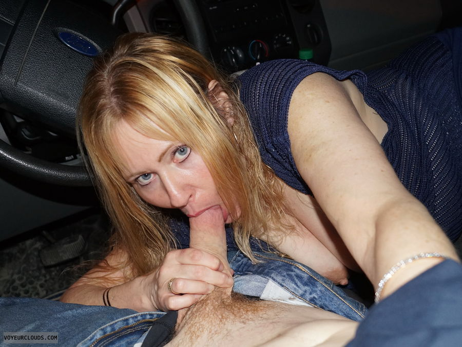 Bj,  blowjob, Sucking cock, Tits, hard Nipple, sexy stare