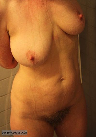 Wet tits, wet nipples, erect nipples, wet milf, milf