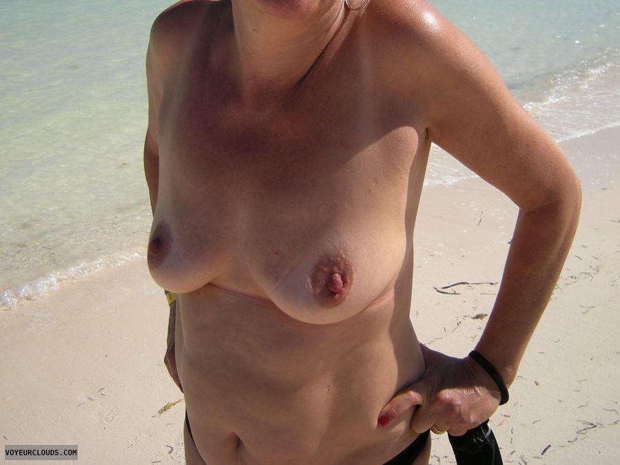 topless, hard nipples, small boobs, small tits