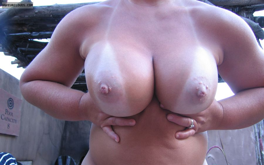 Boobies, Cleavage, Tanlines, Public Nudity, Big Nipples