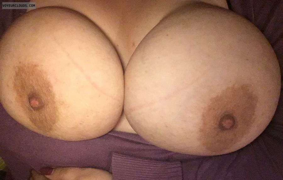 tits out, big tits, big boobs, hard nipples