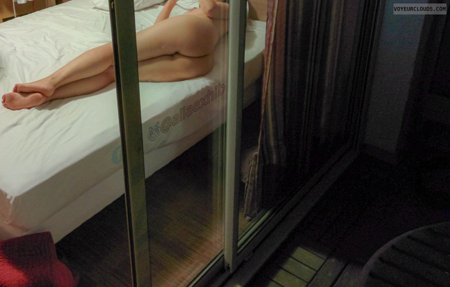 window, voyeur, exhibition, nude, ass
