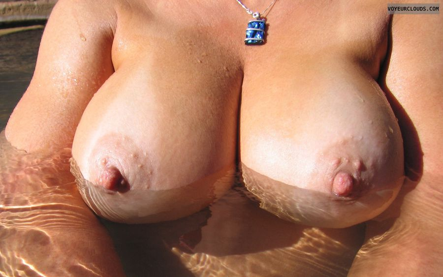 Boobies, Cleavage, Tanlines, Cold Nipples, Big Nipples