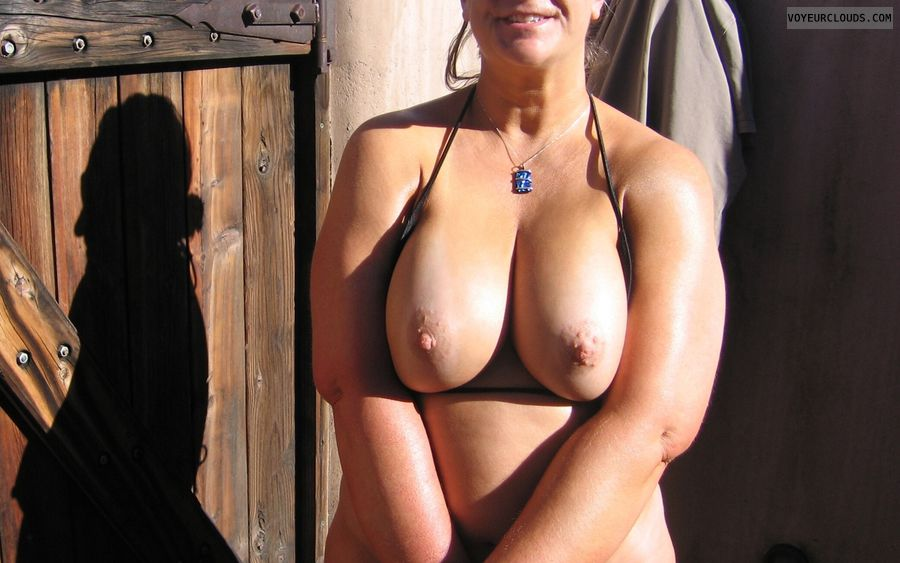 Boobies, Cleavage, Outdoor Nudity, Big Nipples