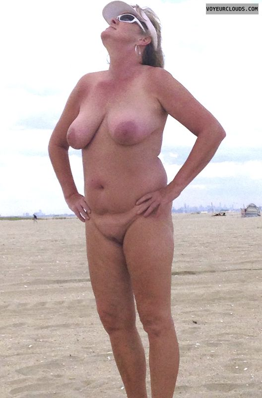 nude, beach, tits, pussy, legs, areola