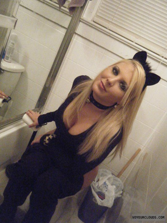 Milf, bathroom,  funny
