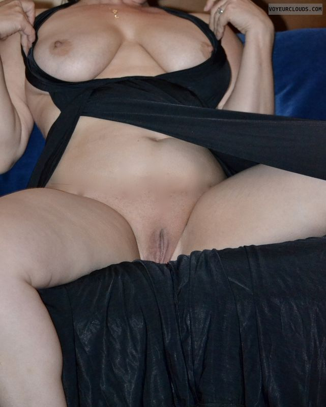 breasts, tits, shaved pussy, pussy, wet, dress, wicked weasel