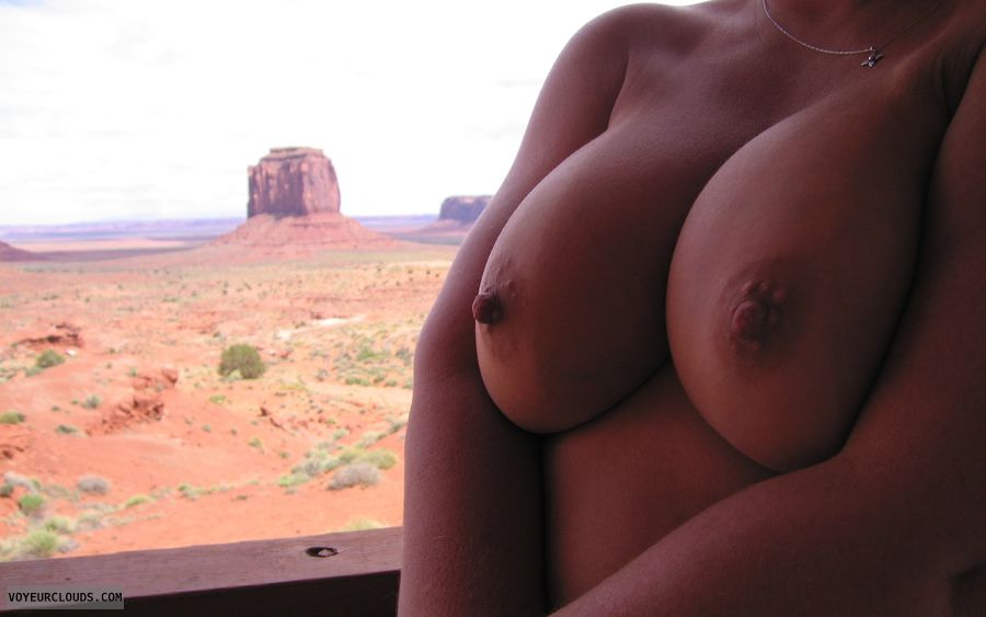 Boobies, Cleavage, Public Nudity, Cold Nipples