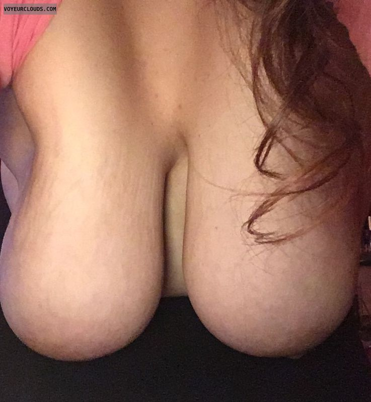 hangers, big tits, big boobs, long hair