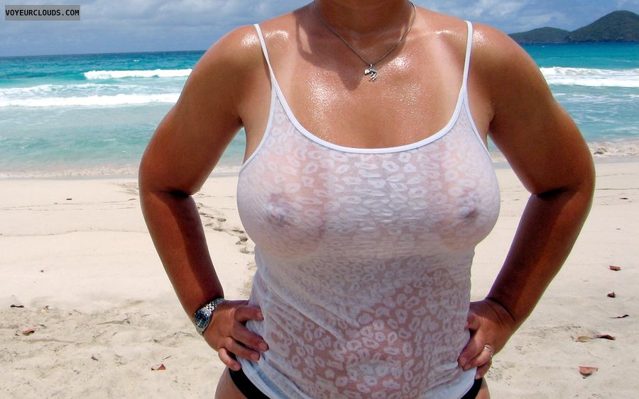 hard nipples, pokies, braless, wet tshirt, flashing tits