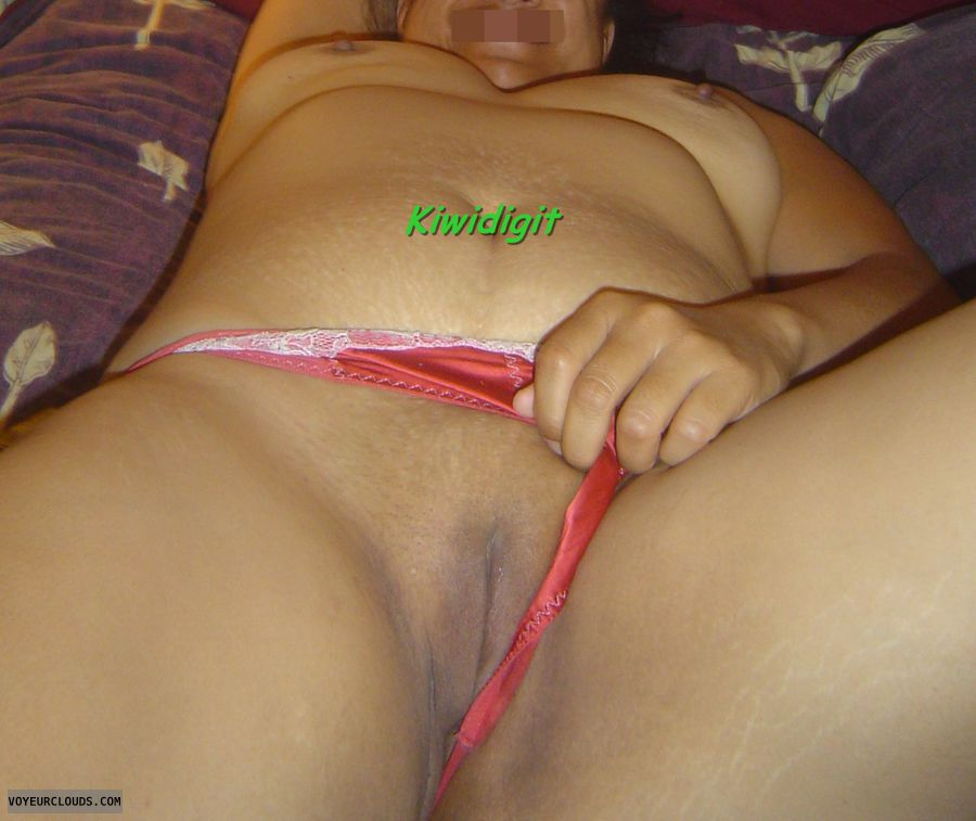 Panties Pulled Aside, Shaved Pussy, Pussy, Shaved