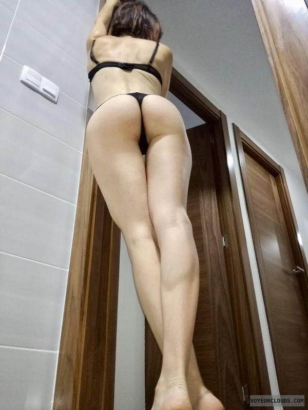 thong, legs