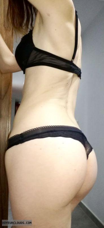 Butt, legs, thong
