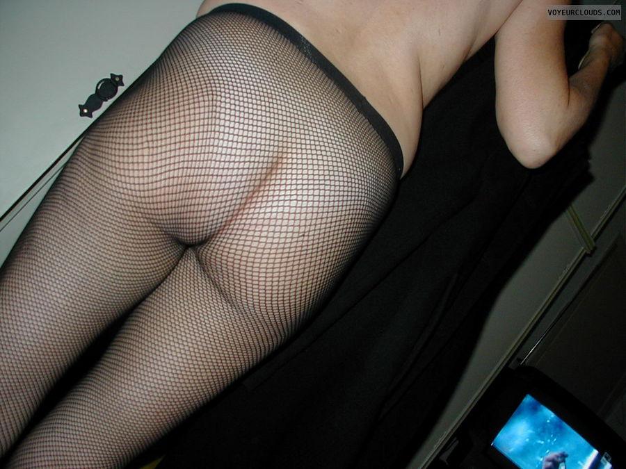 nude wife, ass