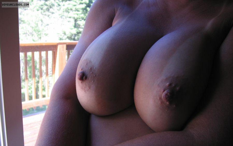 Big Tits, Boobies, Cleavage, Cold Nipples