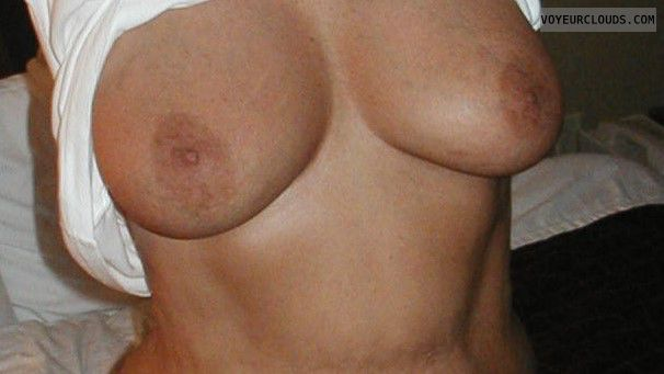 wife, tits, nipples, flash