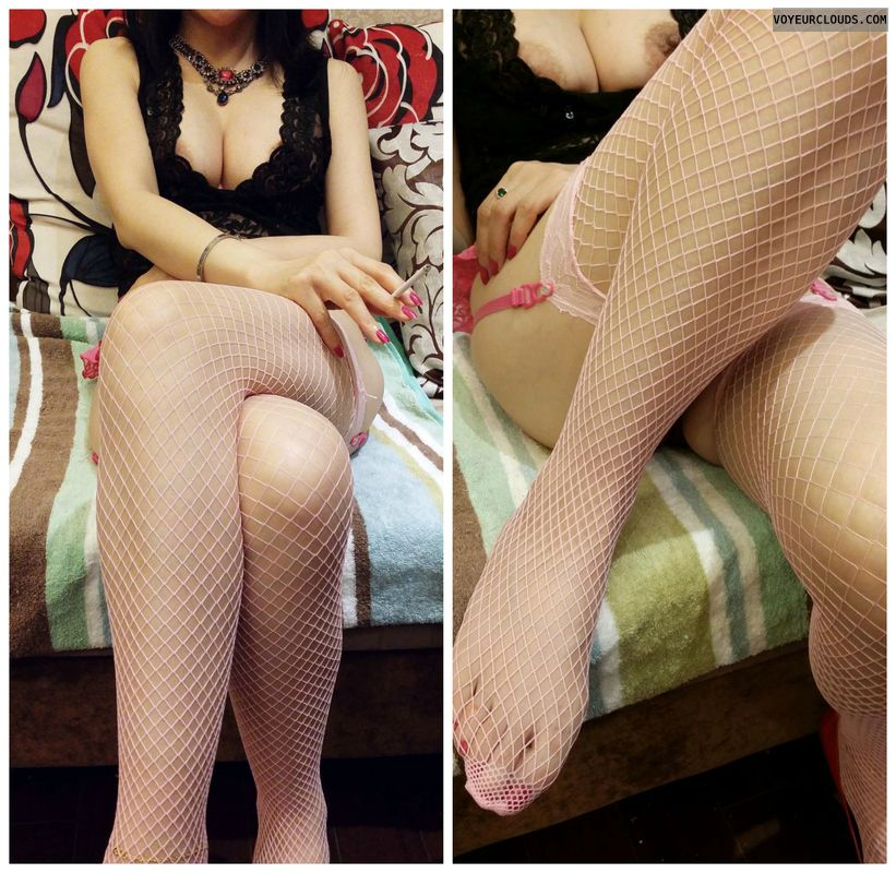 hooker, asian, fishnets, boobs, feet, whore