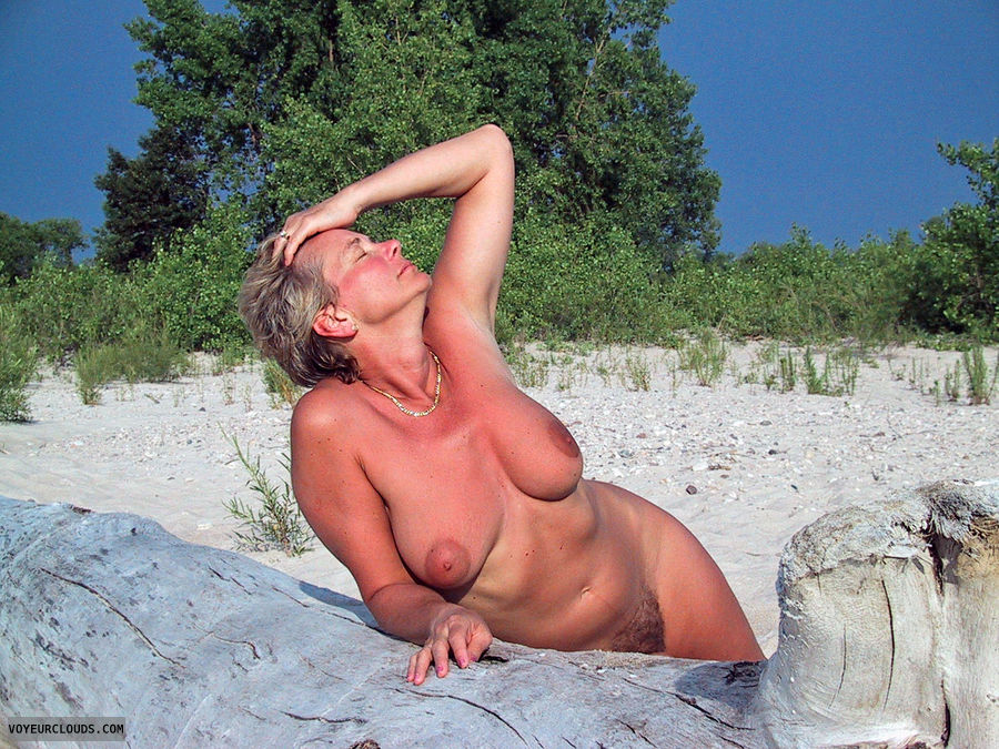 beach, tits, boobs, MILF