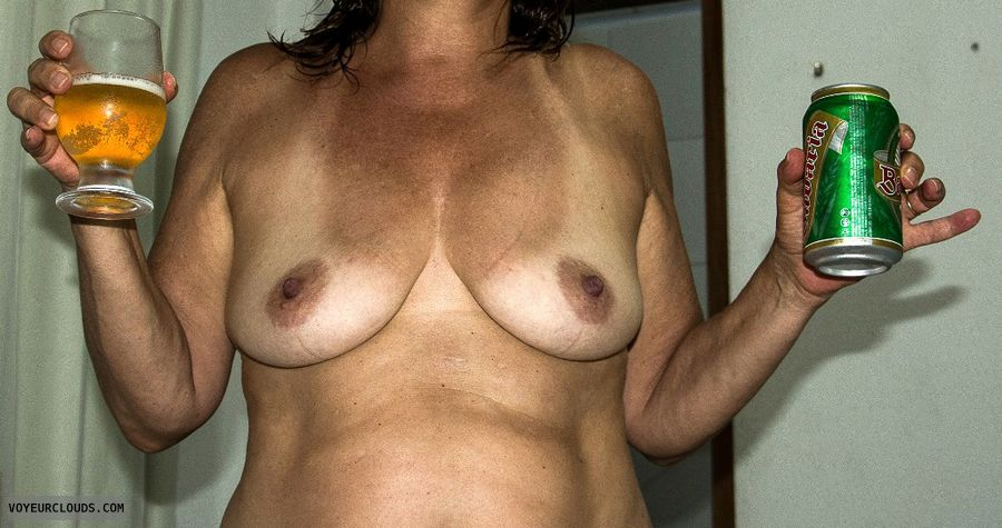 topless, hard nipples, small boobs, tanlines
