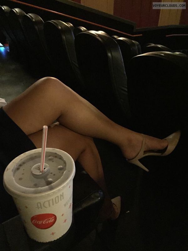legs crossed, milf, Milf legs, sexy heels, dress, tease
