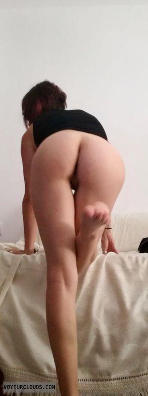 Butt, nude, pussy, legs