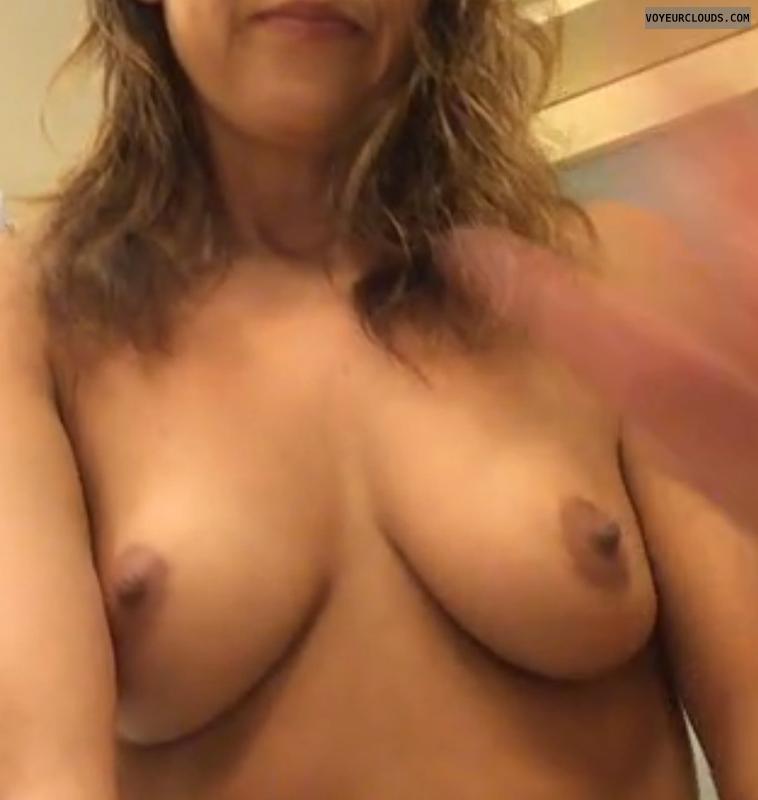 Wife, milf, Nadiac, nude wife, hard nipples, Horny