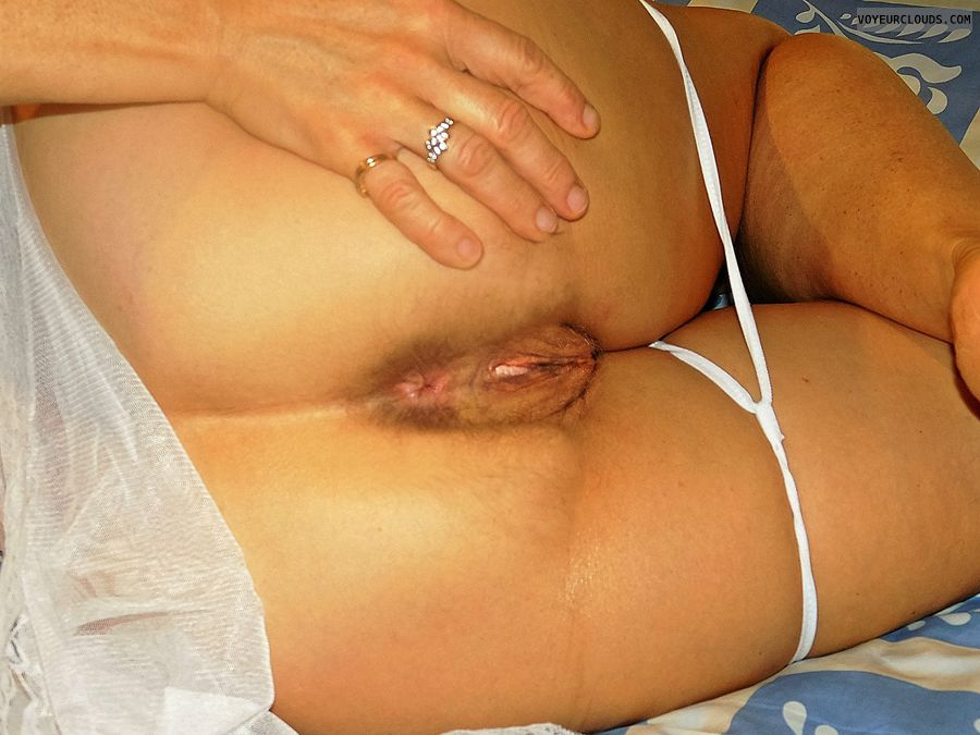anna, wife, ass, spread, hole, cunt, labia, vagina