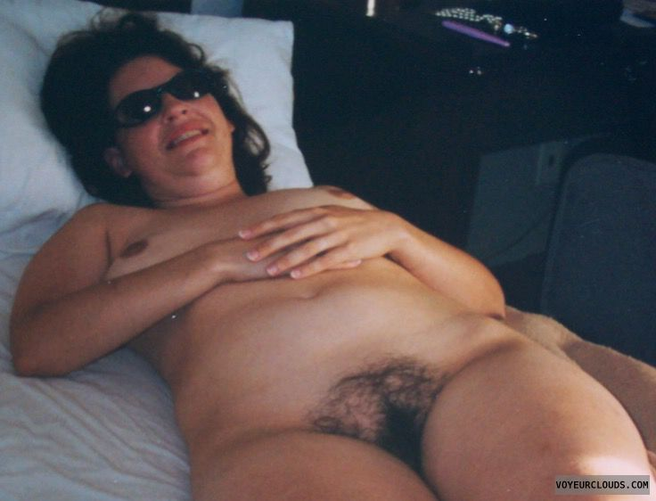 Hairy pussy, Small tits
