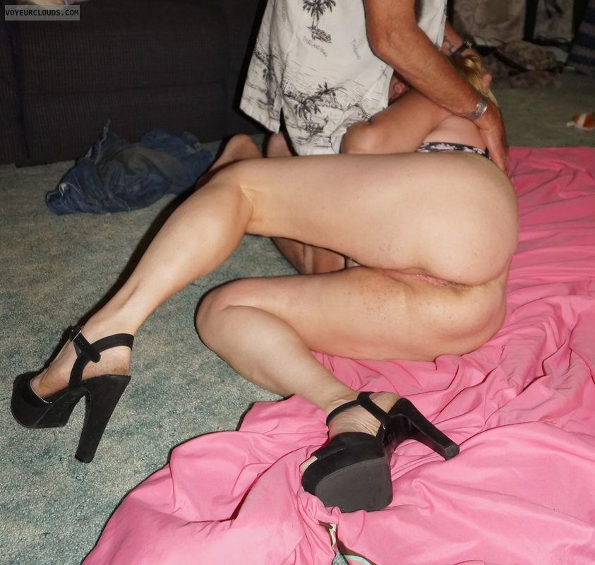 pussy, blow job, legs, heels, Ass