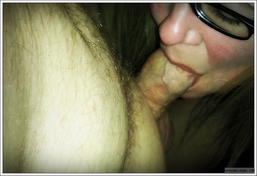 BJ, sucking, dick, cock, sex, milf, wife, blowjob