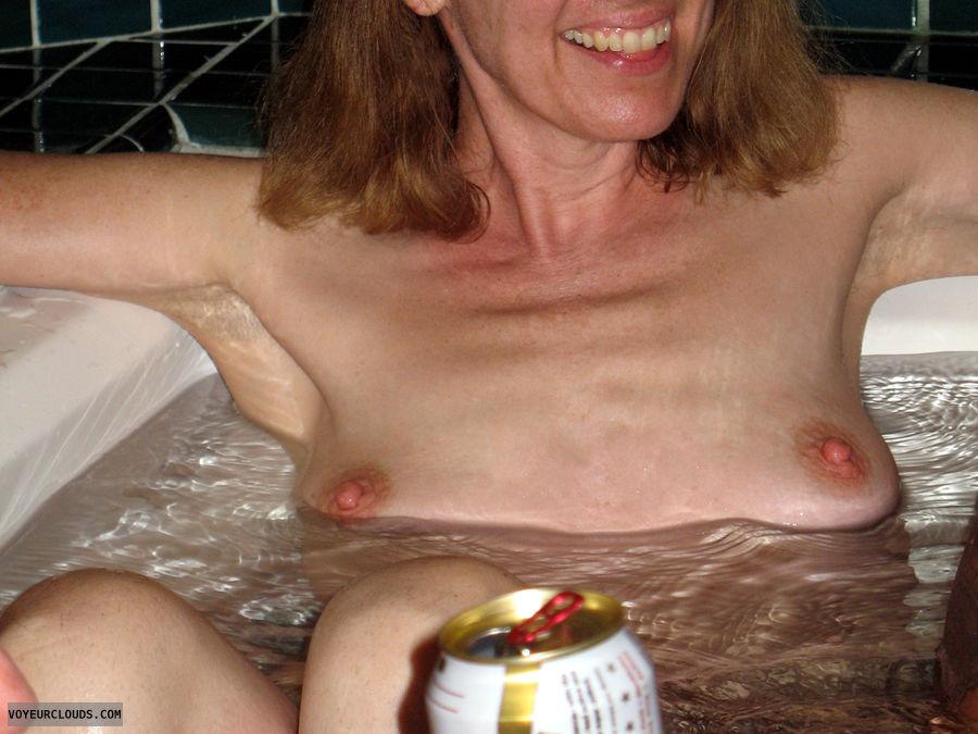 Jacuzzi, Lifestyle, Exhibitionist, Nude Wife, Nude Milf