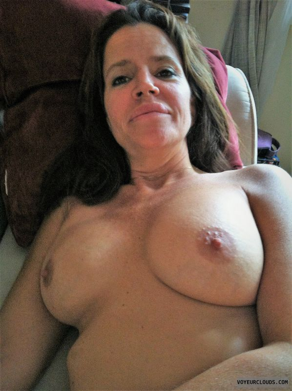 Nude Wife, MILF, Big Tits, Hard Nipples