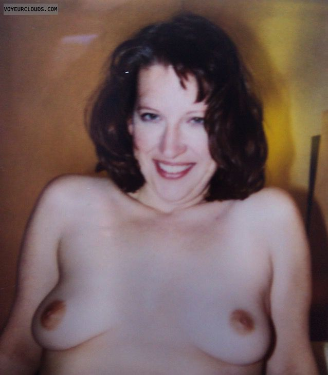 hard nipples, Small Tits, small boobs, Sexy Smile