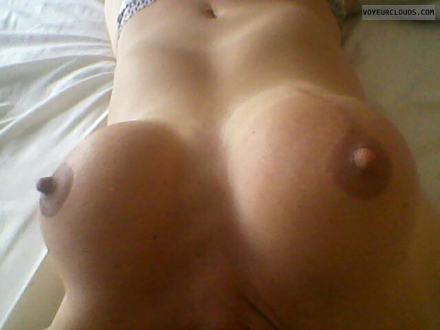 milf tits, big boobs, hard nipples, latina boobs, sexy wife