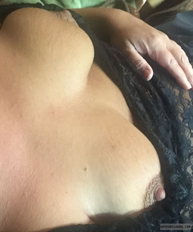hard nipples, naked wife, horny