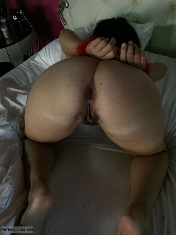 Ass, pussy, milf ass, Milf pussy, hand cuffed, tied up
