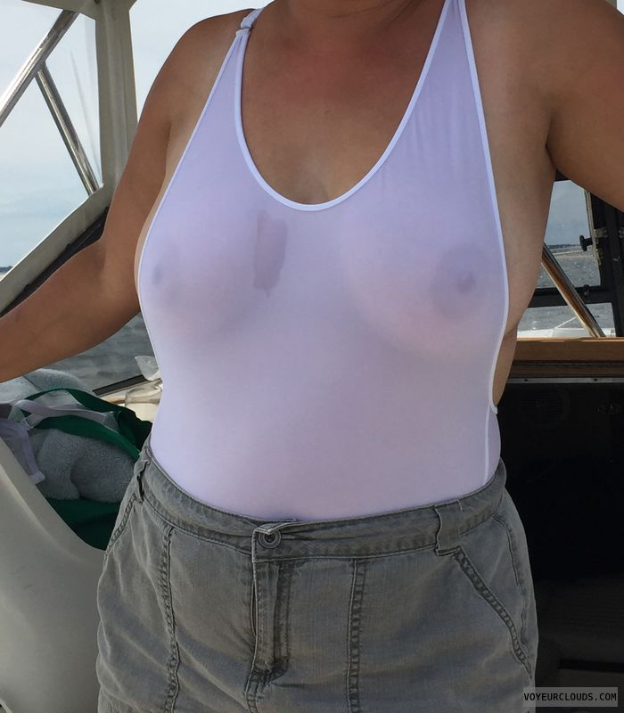 Nipples, breast, tits, wet, wicked weasel, see thru
