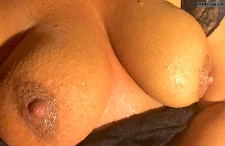 Nude wife, hard nipples, topless, big tits, topless wife