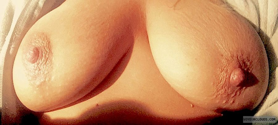 nude wife, topless wife, topless, tanned tits, tits