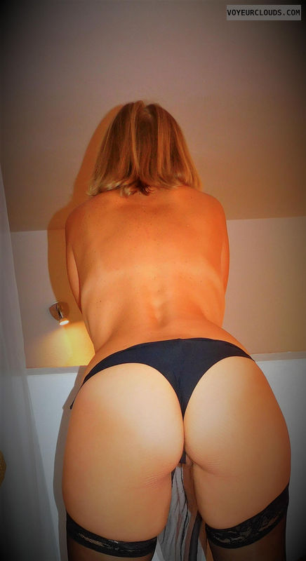 anna, wife, ass, lingerie, panties