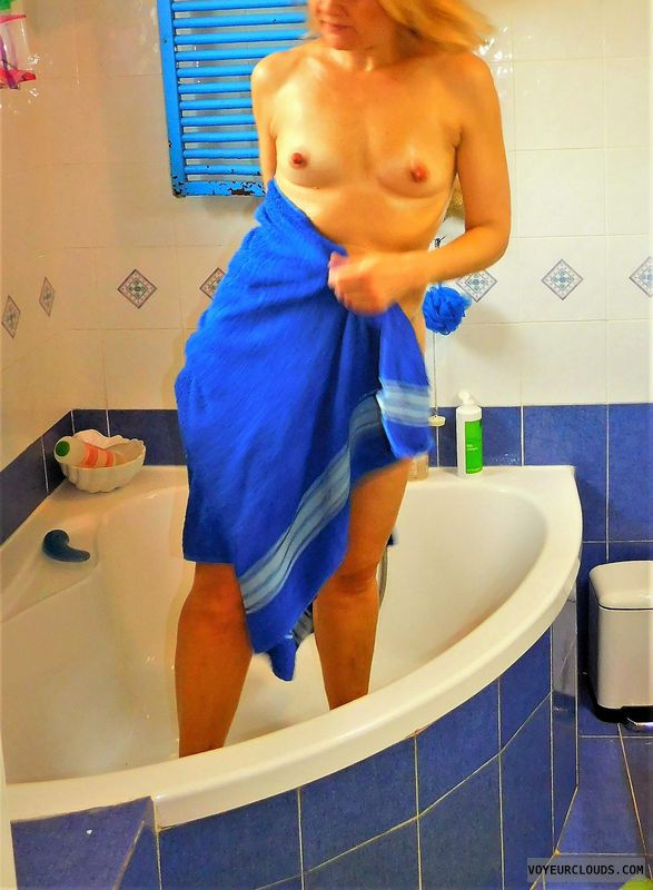 anna, wife, nude, bath, tits