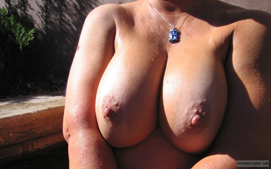 Big Tits, Boobies, Cleavage, Outdoor Nudity