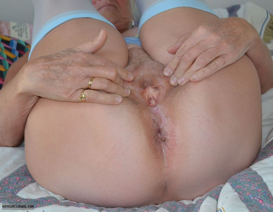 pussy, senior, mature, gilf, legs, ass, nylons, stockings