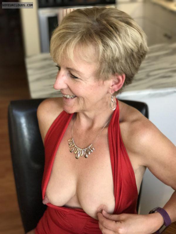 Nude milf, tits, nipples