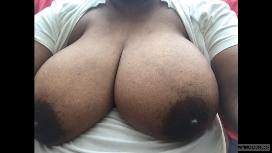 natural tits, big tits, large nipples, hard nipples