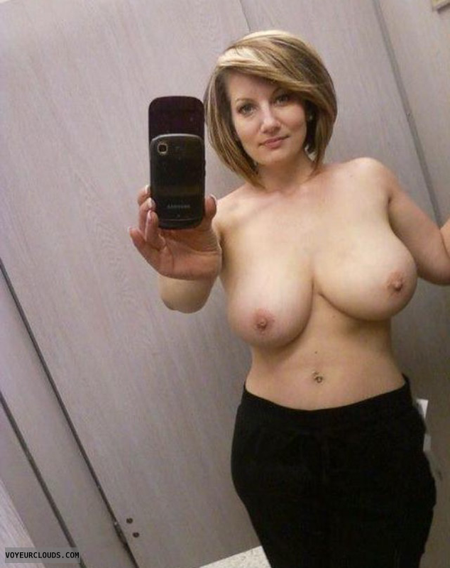 Big tits, topless, topless girlfriend, big boobs