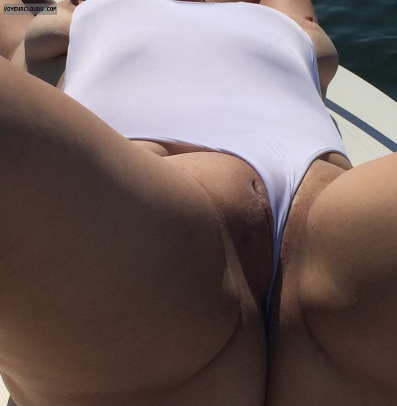 Pussy, shaved pussy, wicked weasel, wet pussy, round butt